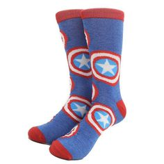 MYORED Superman Captain America Totoro anchor big size Socks men & women unisex knee high long crew socks