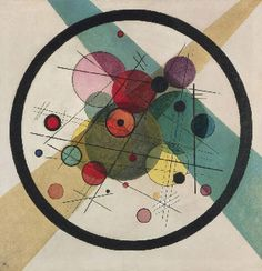 Wassily Kandinsky Circles in a Circle print for sale. Shop for Wassily Kandinsky Circles in a Circle painting and frame at discount price, ships in 24 hours. Wassily Kandinsky, Kandinsky Prints, Abstract Words, Abstract Art, Abstract Paintings, Art Paintings, Abstract Lines, Abstract Photos, Abstract Expressionism