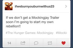 Mockinjay is six months away. We need this trailer in order to survive!