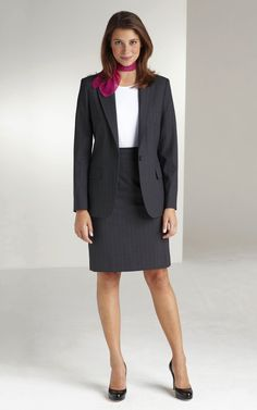Very Lovely Skirts, Skirtsuits, and Dresses Business Professional Attire, Business Outfits, Office Outfits, Business Attire, Office Fashion, Work Fashion, Women's Fashion, Fashion Ideas, Skirt Outfits