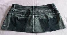 DIY - Como fazer saia usando calça jeans e vestido