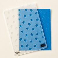 """Lucky Stars"" Textured Impressions Embossing Folder"
