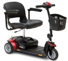 Scooter eléctrico GOGO de 3 ruedas - Ayudas dinamicas