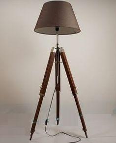 tripod floor lamp/standard lamp shade not by ElegantLighting
