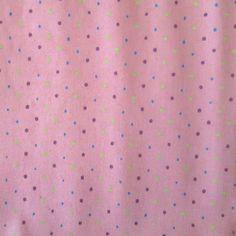 C0073 - mini poá colorido, fundo rosa