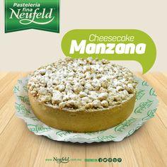 #Cheesecake de manzana #Neufeld