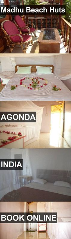 Hotel Madhu Beach Huts in Agonda, India. For more information, photos, reviews and best prices please follow the link. #India #Agonda #travel #vacation #hotel