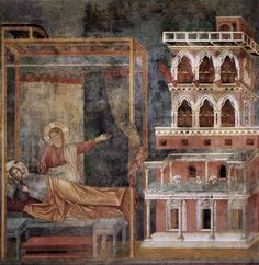 Giotto - Dream of the Palace, 1297-1299