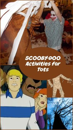 Scooby Doo isn't just for older kids! Let your littlest ones get in on the sleuthing action with our favorite Scooby Doo activities for toddlers!