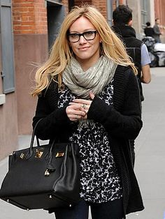 Hilary Duff Fashion Style