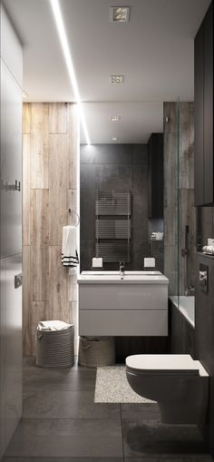 Дизайн интерьера санузла в современном стиле - Галерея 3ddd.ru