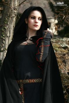 forest maiden, fantasy, medieval: Model, Danielle Fiore