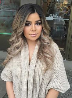 Hair Trends & Tutorials Picture DescriptionFabulous Ash Blonde Hair Colors – Best Hair Color Trends 2017 – Top Hair Color Ideas for You Balayage Blond, Balayage Highlights, Ash Blonde Hair Balayage, Brown Blonde Hair, Blonde Brunette, Short Blonde, Blonde Hair For Olive Skin, Dark To Blonde Ombre, Ash Brown Bayalage