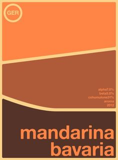 mandarina bavaria single hop Art Print by Committee On Opprobriations | Society6