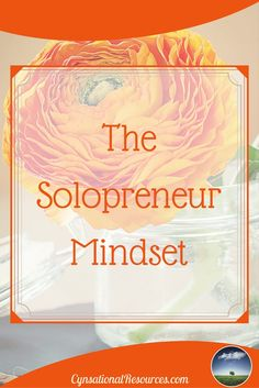 Let's be honest.  Jumping from a corporate job to self-employment requires a different thought process each and every day.  For success, your mindset has to be different if you want to be in self-employed. Do you have a solopreneur mindset?