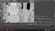 Créez des batiments très détaillés et très rapidement dans Cinema 4D ou Zbrush