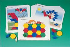 PATTERN BLOCK MATCHING ACTIVITIES #Glimpse_by_TheFind