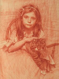 """we had a cat, her name was Minounia. we loved her verry much, and we just knew that she loved us too. With her claws she constantly tried to write """"i love you""""... she left love marks on our ankles, wrists, legs,necks, faces."""