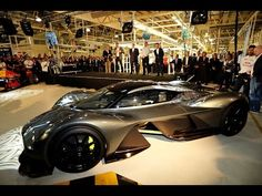 Aston Martin Red Bull Hypercar - New 2017 Aston Martin AM-RB 001 | Car C...