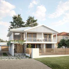 Interior Exterior, Exterior Design, Building Design, Building A House, House Front, My House, Small Beach Houses, Facade House, House Facades