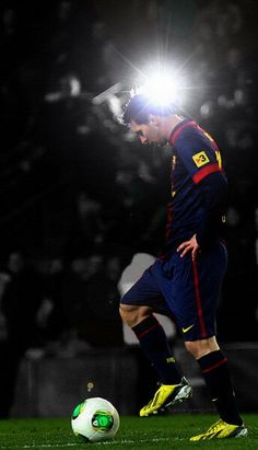 Leo Messi, one of my favorite players