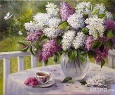 Воробьева Ольга. Сиреневая весна