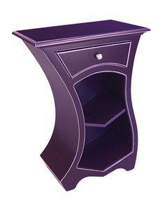 Curvy Purple Furniture