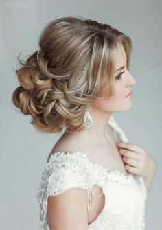 Elstile Wedding Hairstyles That Wow ~ we ❤ this! moncheribridals.com