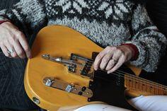 Ann Klein's #Telecaster #guitar