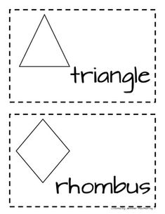 These are simple illustrated shapes for the kindergarten word wall.  They are meant to be printed on one 8 1/2 by 11