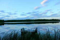 Swimming place, Lake Päijänne..waiting each other