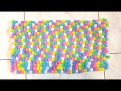 How to Make a Pom Pom Rug   RebeccaKelsey.com
