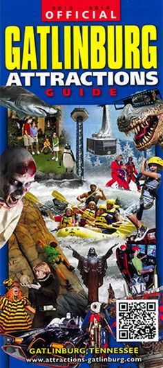 Gatlinburg attraction guide offers things to do in Gattlinburg tn all on… Gatlinburg Attractions, Gatlinburg Vacation, Gatlinburg Tennessee, Tennessee Vacation, Vacation Trips, Vacation Spots, Vacation Ideas, Arkansas Vacations, Vacation Places