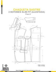 Manual de patronaje CMT - SENA Coat Pattern Sewing, Suit Pattern, Collar Pattern, Coat Patterns, Jacket Pattern, Pattern Books, Clothing Patterns, Sewing Patterns, Tailoring Techniques