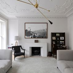 Crown Molding Embellishments modern ceiling