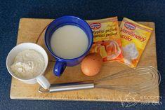 Domácí lívance bez droždí - připravíme si suroviny Oras, Sweets, Gummi Candy, Candy, Goodies, Treats, Deserts