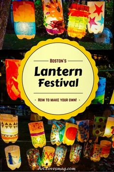 Create Your Own Lantern Festival: A Beautiful Art Project How to make a lantern from simple materials at home (ex: Soda bottles). Craft activity inspired by the Jamaica Plain Lantern Festival and Parade in Boston, MA. Recycled Art Projects, Recycled Crafts, Projects For Kids, Diy For Kids, Camping Crafts For Kids, Autumn Crafts For Kids, Halloween Art Projects, Spring Crafts, Garden Projects