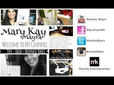 Welcome to My Mary Kay Channel - Mayra Etayo Together with my 20 years of marketing experience, I know that I can share more than just my Mary Kay journey with you, I'll share marketing and business advice so that we can grown our Mary Kay Businesses together. www.marykay.com/mayra