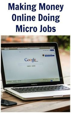 Making Money Online Doing Micro Jobs make money from home, make extra money #makemoney