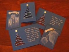 ruční výrobky na vánoce - Hledat Googlem Christmas Tag, Christmas Decorations, Homemade Cards, Paper Cutting, Advent, Cardmaking, Personalized Items, Tableware, Crafts