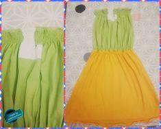 Upcycling...  ... Dieses luftige Sommerkleid wurde aus zwei XL T shirts genäht Summer Dresses, Fashion, Repurpose, Summer, Gowns, Summer Sundresses, Moda, Sundresses, Fasion