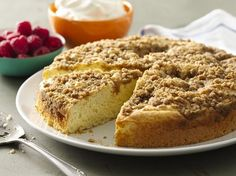 Everyone needs a classic coffee cake recipe. Simple to make and a treat to eat, this is it!