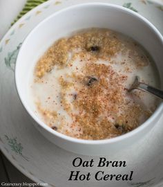 Grain Crazy: Bob's Red Mill Oat Bran Hot Cereal. This is an amazing cereal loaded with 7 grams of fiber per serving.