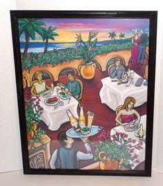 "Rare 24"" x 30"" Wood Framed Art Print Featuring Corona Extra/Corona Light Beer"