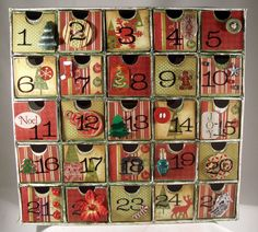 Traditional Advent Box