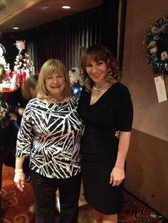 2014.12.04 Cheryl and Janna at Crystal Angel's Christmas gala