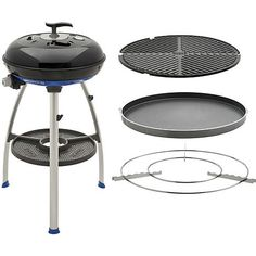 Cadac Carri Chef 2 Portable Grill with Pot Ring Grill Plate and Chef Pan Chef Grill, Bbq Grill, Gas Bbq, Healthy Grilling, Grilling Recipes, Portable Grill, Grill Plate