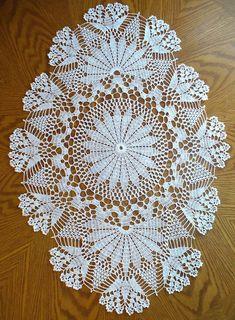 Beautiful Crochet Doily♥ Deniz Beautiful Crochet Doily♥ Deniz Learn the rudiments of how to crochet, Free Crochet Doily Patterns, Crochet Doily Diagram, Crochet Chart, Thread Crochet, Filet Crochet, Irish Crochet, Diy Crochet, Crochet Designs, Crochet Table Runner