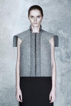 Industrial Futurewear conceived by Ukrainian designer Irina Dzhus «  The WILD Magazine