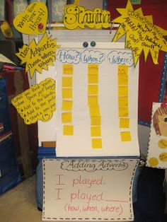 First Grade Wow: Adding Adverbs